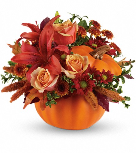 Autumn's Joy by Teleflora in Ashtabula OH, Capitena's Floral & Gift Shoppe LLC