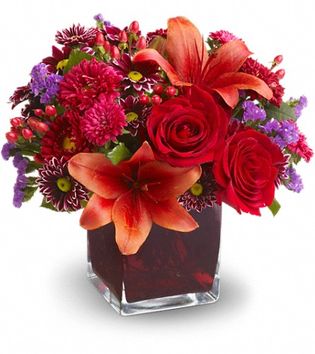 Teleflora's Autumn Grace in Woodbridge NJ, Floral Expressions