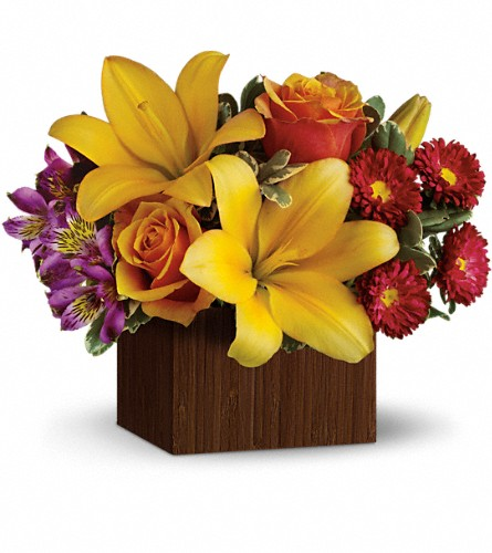 Teleflora's Full of Laughter in Springfield MA, Pat Parker & Sons Florist