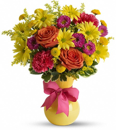 Teleflora's Hooray-diant! in Royersford PA, Three Peas In A Pod Florist