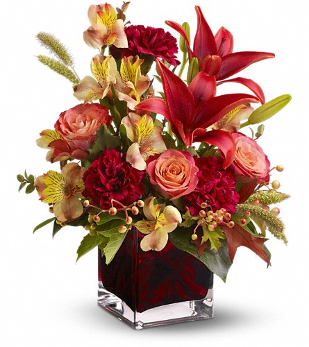 Teleflora's Indian Summer in Greenwood Village CO, DTC Custom Floral