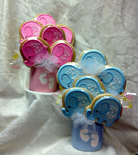 New Baby Cookie Bouquet in Laurel MD, Rainbow Florist & Delectables, Inc.