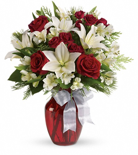 Joyful Season Bouquet in Bakersfield CA, White Oaks Florist