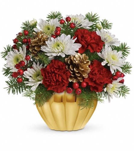 Precious Traditions Bouquet by Teleflora in Port Perry ON, Abbey Rose Florist