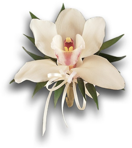 Cymbidium Orchid Corsage in Palm Springs CA, Palm Springs Florist, Inc.