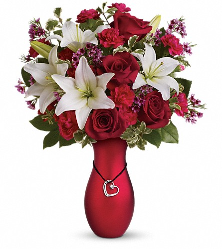 Heartstrings Bouquet by Teleflora in Gaylord MI, Flowers By Josie