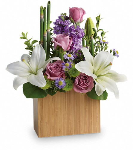 Kissed With Bliss by Teleflora in Saratoga Springs NY, Dehn's Flowers & Greenhouses, Inc