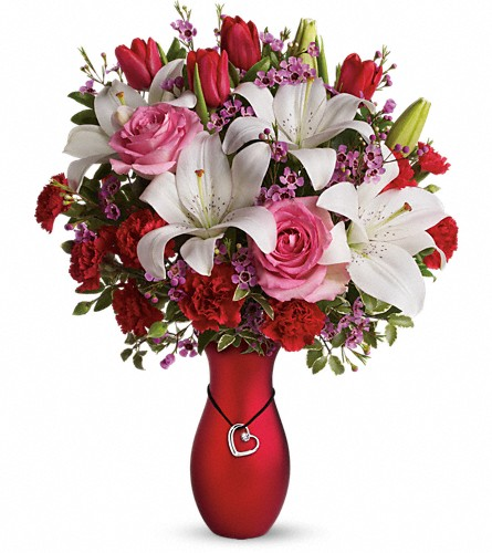 My Heart Is Yours Bouquet by Teleflora in State College PA, George's Floral Boutique