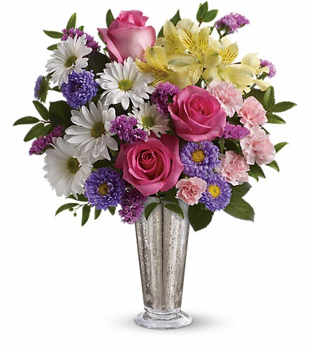 Smile And Shine Bouquet by Teleflora in West Bloomfield MI, Happiness is...Flowers & Gifts