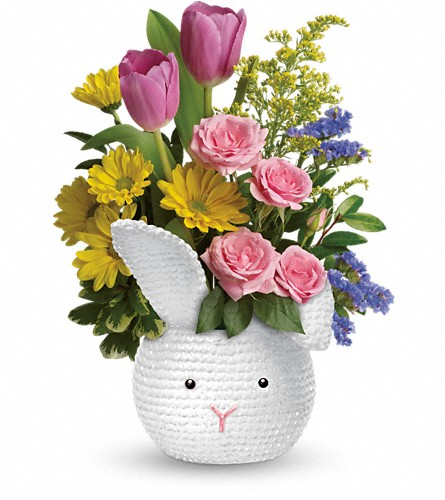 Teleflora's Cuddle Bunny Bouquet in North Myrtle Beach SC, Flowers On The Coast
