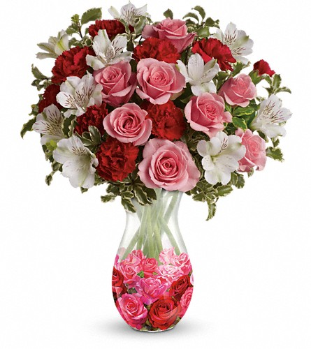 Teleflora's Rosy Posy Bouquet in Brentwood CA, Flowers By Gerry