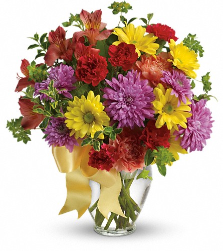 Color Me Yours Bouquet in Oklahoma City OK, Array of Flowers & Gifts