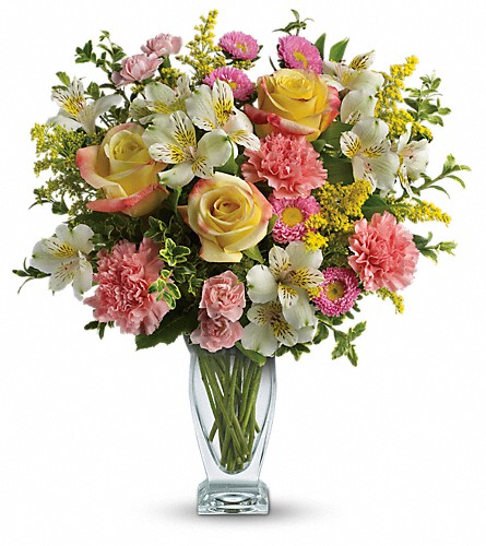 Meant To Be Bouquet by Teleflora in Ambridge PA, Heritage Floral Shoppe