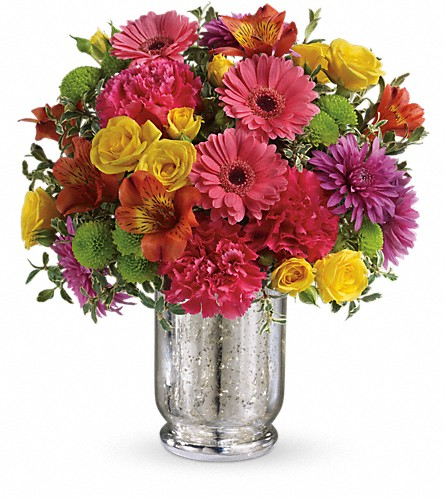 Teleflora's Pleased As Punch Bouquet in Prior Lake & Minneapolis MN, Stems and Vines of Prior Lake