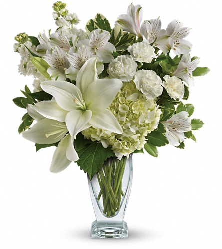 Teleflora's Purest Love Bouquet in Lubbock TX, House of Flowers