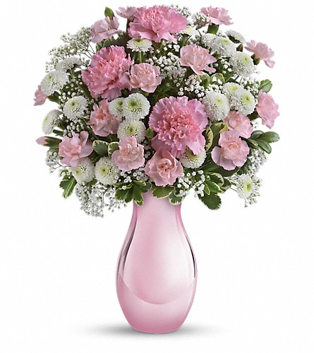 Teleflora's Radiant Reflections Bouquet in Jay ME, The Flower Barn