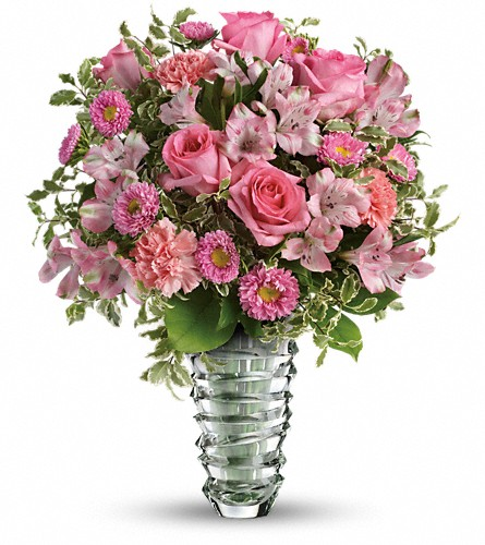 Teleflora's Rose Fantasy Bouquet in Brockton MA, Holmes-McDuffy Florists, Inc 508-586-2000