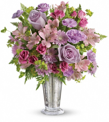Teleflora's Sheer Delight Bouquet in Muncie IN, Paul Davis' Flower Shop