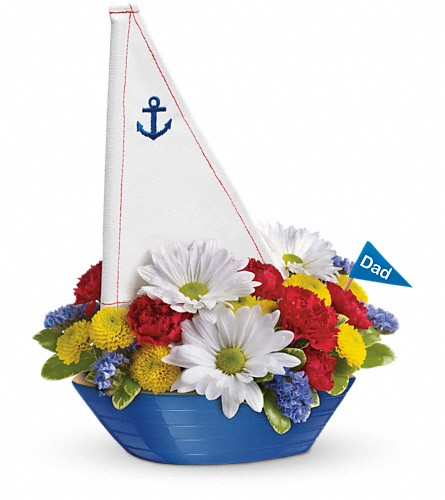 Teleflora's Anchors Aweigh Bouquet in Mitchell SD, Nepstads Flowers And Gifts
