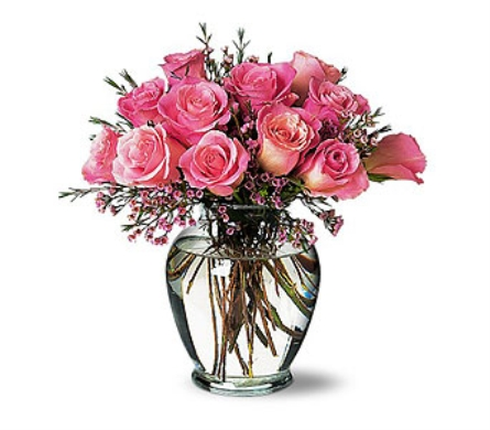 A Pretty Pink Dozen in Dallas TX, In Bloom Flowers, Gifts and More