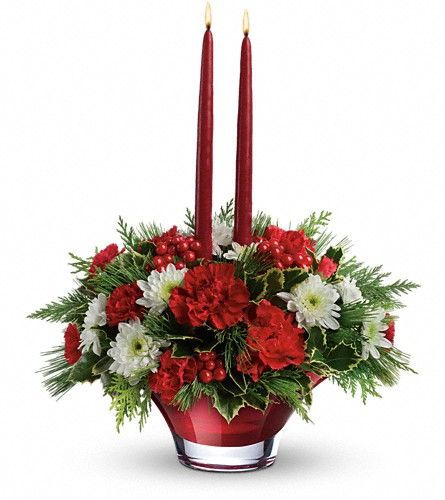 Teleflora s evergreen elegance centerpiece in bethesda md
