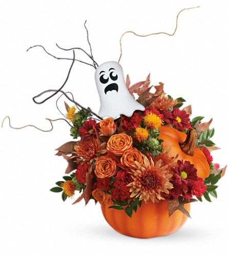 Teleflora's Spooky Surprise Bouquet in Erie PA, Allburn Florist