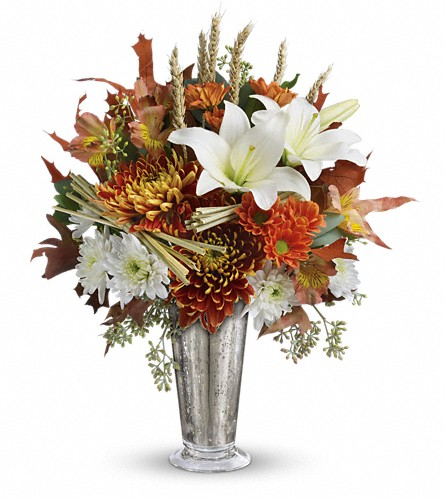 Teleflora's Harvest Splendor Bouquet in Bakersfield CA, All Seasons Florist