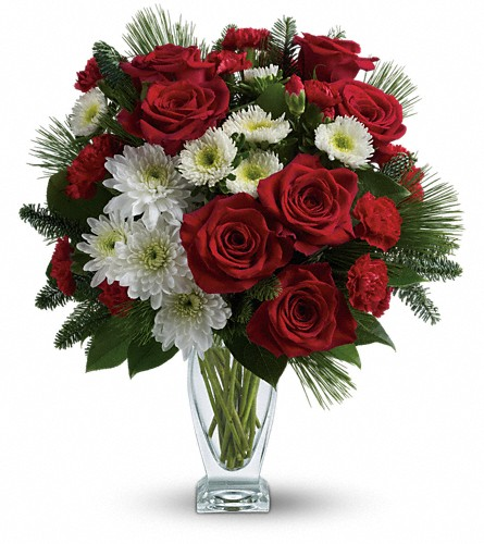 Teleflora's Winter Kisses Bouquet in Richmond Hill ON, FlowerSmart