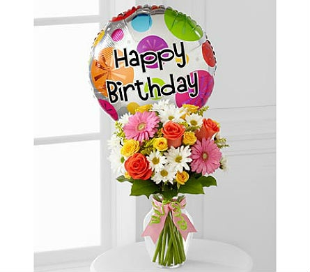 The Birthday Cheer™ Bouquet by FTD® in San Clemente CA, Beach City Florist