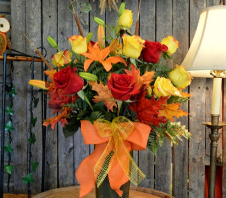 Fall In Love Premium in Utica NY, Chester's Flower Shop And Greenhouses