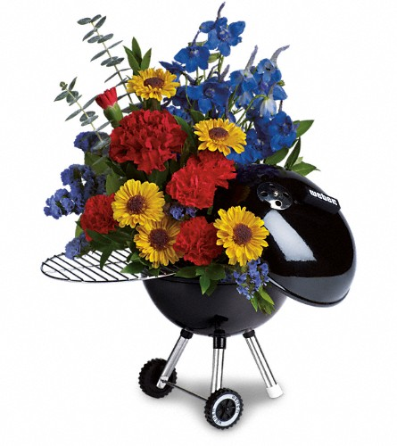 Weber Hot Off The Grill by Teleflora in Kalispell MT, Flowers By Hansen, Inc.