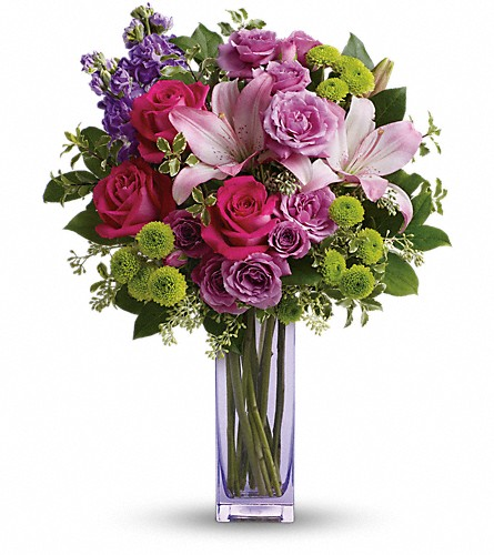 Teleflora's Fresh Flourish Bouquet in Pickering ON, Violet Bloom's Fresh Flowers