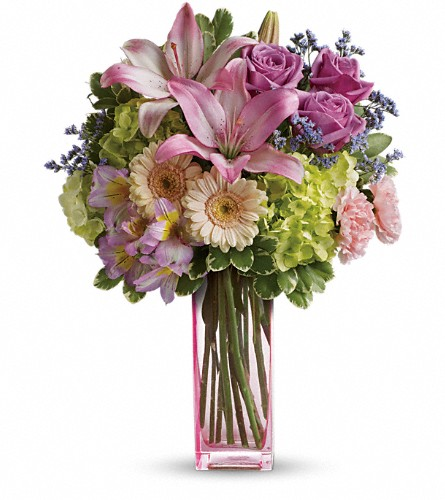 Teleflora's Artfully Yours Bouquet in Newbury Park CA, Angela's Florist