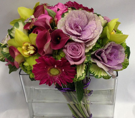Prussian Arrangement in New York NY, Fellan Florists Floral Galleria