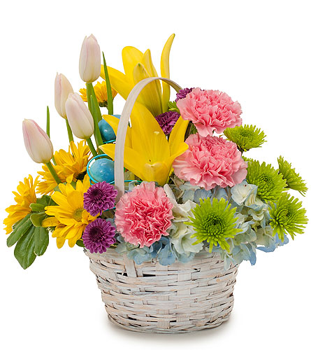 Springtime in Traverse City MI, Teboe Florist