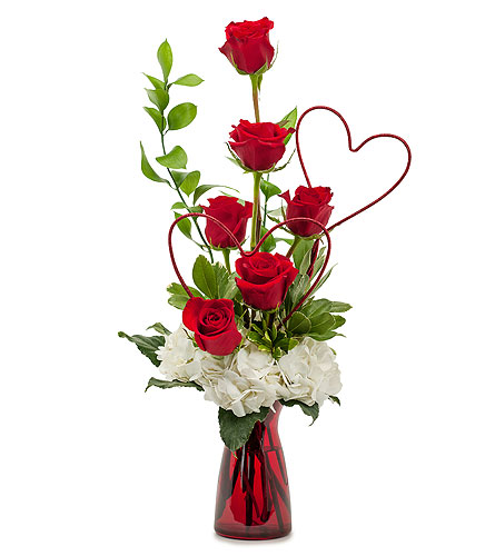 Two Hearts on Fire in Havre De Grace MD, Amanda's Florist