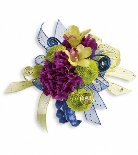 Evening Electric Corsage in Parsippany NJ, Cottage Flowers