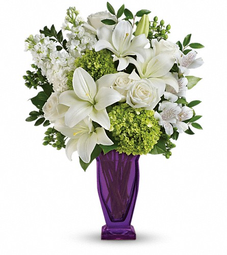 Teleflora's Moments Of Majesty Bouquet in Canton NC, Polly's Florist & Gifts