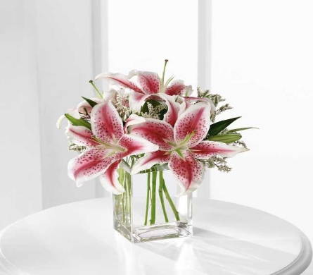 Stargazer Lily Bouquet in Chicago IL, La Salle Flowers