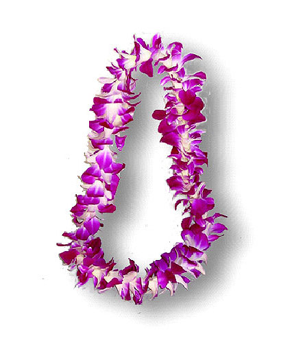 Purple Orchid Lei in Eugene OR, Rhythm & Blooms