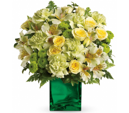 Emerald Elegance in Norristown PA, Plaza Flowers