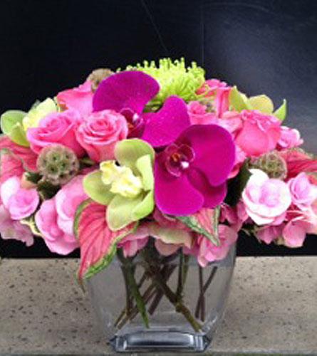 Cotton candy bouquet in bellevue wa city flowers inc