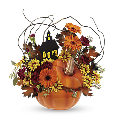 Teleflora's Haunted House Bouquet in Elyria OH, Botamer Florist & More