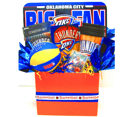 NBAGB4 ''Big Thunder Fun'' Gift Bouquet in Oklahoma City OK, Array of Flowers & Gifts