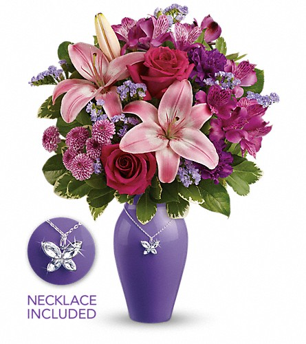Teleflora's Beautiful Butterfly Bouquet in Mississauga ON, Mums Flowers