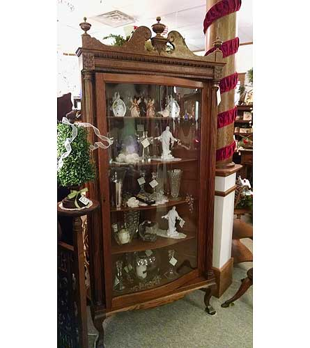 Antique Corner China Cabinet $3695 in Grand Rapids MN - Shaw Florists