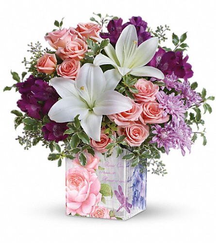 Teleflora's Grand Garden Bouquet in Oklahoma City OK, Array of Flowers & Gifts