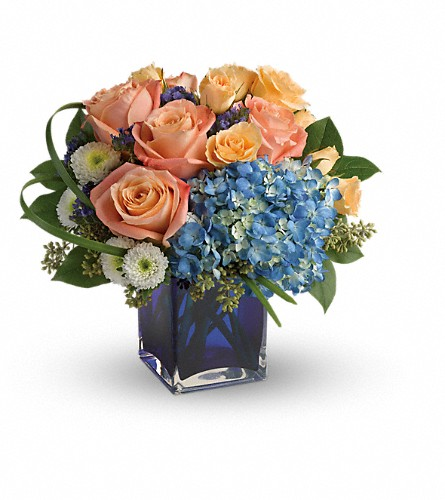 Teleflora's Modern Blush Bouquet in Milford CT, Beachwood Florist