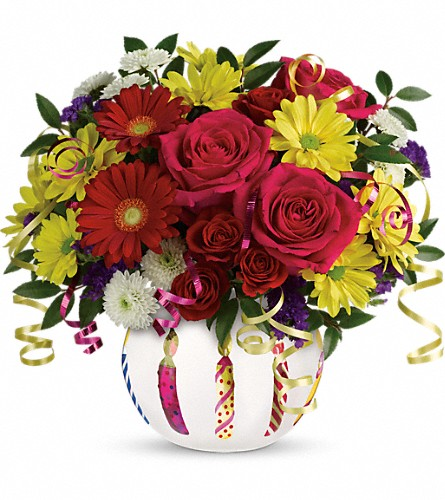 Teleflora's Special Celebration Bouquet in Fort Worth TX, Greenwood Florist & Gifts