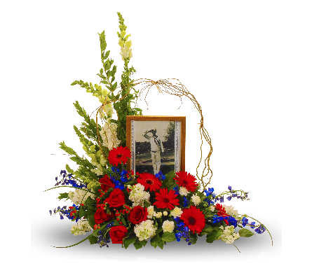 Patriotic Tribute Photo in Dallas TX, In Bloom Flowers, Gifts and More